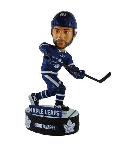 JOHN TAVARES TORONTO MAPLE LEAFS FOCO ACTION BOBBLE HEAD