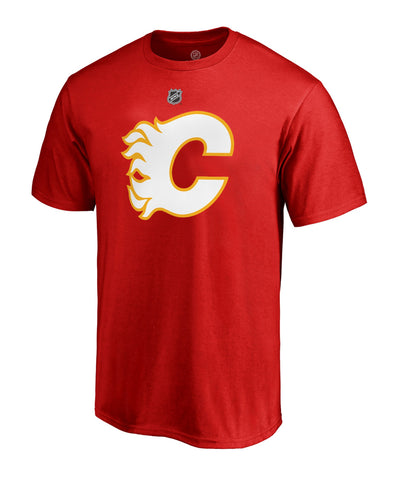 JOHNNY GAUDREAU CALGARY FLAMES FANATICS MEN'S NAME AND NUMBER T SHIRT