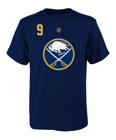 JACK EICHEL BUFFALO SABRES KID'S NAME AND NUMBER T SHIRT