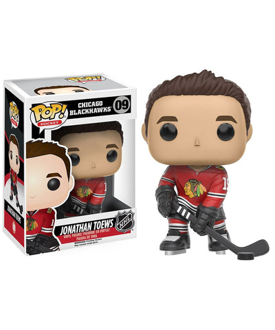 JONATHAN TOEWS CHICAGO BLACKHAWKS FUNKO POP! VINYL NHL FIGURE