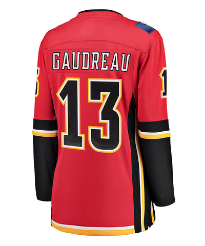 JOHNNY GAUDREAU CALGARY FLAMES FANATICS WOMEN'S BREAKAWAY JERSEY