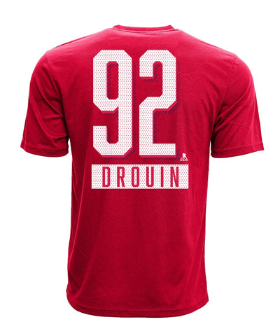 JONATHAN DROUIN MONTREAL CANADIENS LEVELWEAR MEN'S ICING NAME & NUMBER T SHIRT