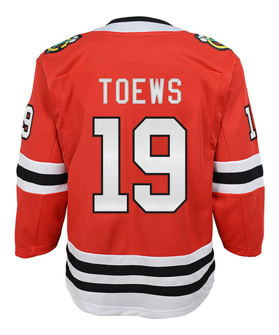 JONATHAN TOEWS CHICAGO BLACKHAWKS KID'S PREMIER JERSEY