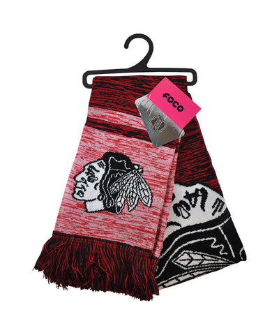 KDI CHICAGO BLACKHAWKS BIG LOGO SCARF