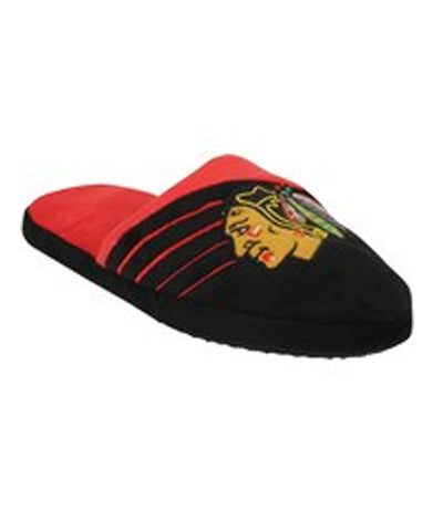 KDI CHICAGO BLACKHAWKS BIG LOGO SLIPPERS