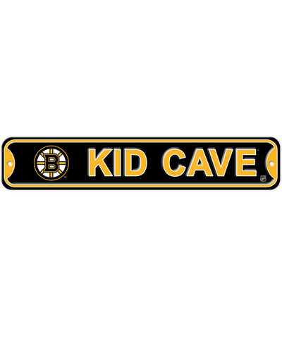 BULLETIN BOSTON BRUINS KID CAVE SIGN