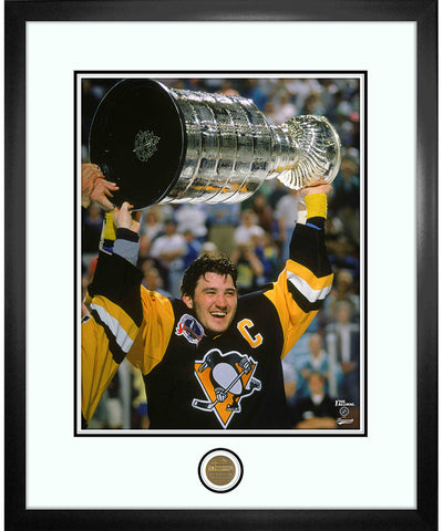 MARIO LEMIEUX PITTSBURGH PENGUINS ICONS COLLECTION - 18X22