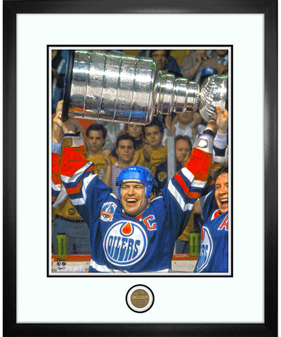MARK MESSIER EDMONTON OILERS ICONS COLLECTION - 18X22