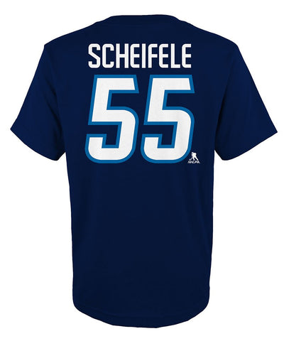 MARK SCHEIFELE WINNIPEG JETS JUNIOR PLAYER T SHIRT