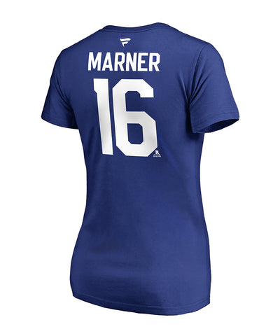 60eb68d83 MITCH MARNER TORONTO MAPLE LEAFS FANATICS WOMEN S NAME AND NUMBER T SHIRT  ...