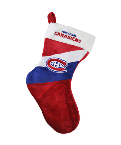 "MONTREAL CANADIENS 17"" COLOURBLOCK STOCKING"