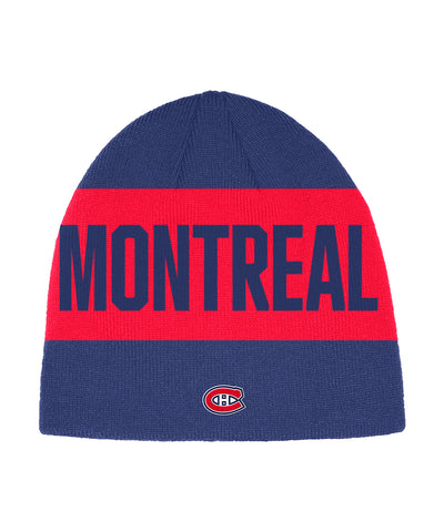 MONTREAL CANADIENS ADIDAS MEN'S CITY ABOVE BEANIE