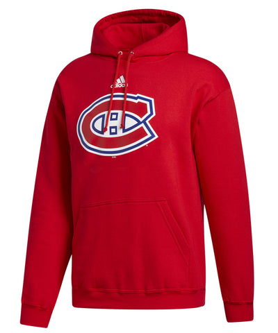 MONTREAL CANADIENS ADIDAS MEN'S PRIMARY LOGO HOODIE