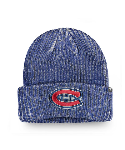 MONTREAL CANADIENS FANATICS MEN'S RINKSIDE CUFFED BEANIE TOQUE