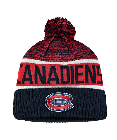 MONTREAL CANADIENS FANATICS MEN'S RINKSIDE GOALIE CUFFED KNIT TOQUE