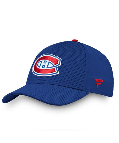 MONTREAL CANADIENS FANATICS MEN'S RINKSIDE STRUCTURED STRETCH HAT
