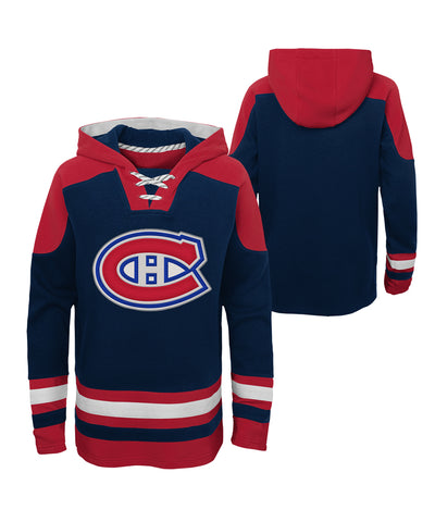 MONTREAL CANADIENS KID'S AGELESS MUST HAVE LACER HOODIE