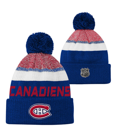 MONTREAL CANADIENS KID'S AP RINKSIDE POM KNIT TOQUE