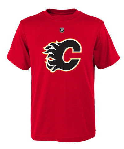 MATTHEW TKACHUK CALGARY FLAMES JUNIOR PLAYER T SHIRT