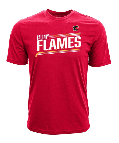 timeless design aa9a8 4c82f MATTHEW TKACHUK CALGARY FLAMES LEVELWEAR MEN S NAME   NUMBER T SHIRT – Pro  Hockey Life