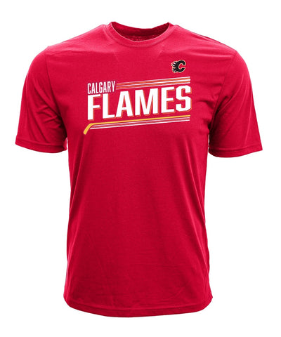MATTHEW TKACHUK CALGARY FLAMES LEVELWEAR MEN'S ICING NAME & NUMBER T SHIRT