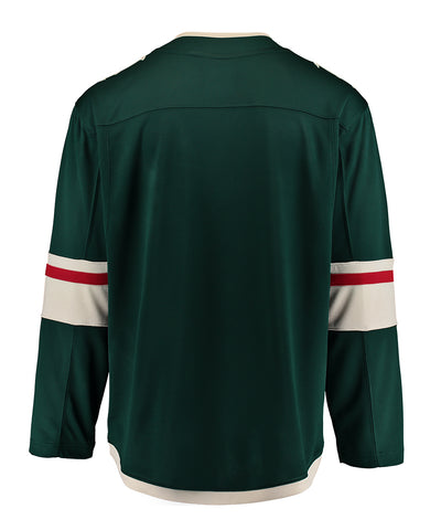 FANATICS MINNESOTA WILD MENS HOME BREAKAWAY JERSEY