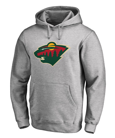 MINNESOTA WILD FANATICS MEN'S PRIMARY LOGO HOODIE