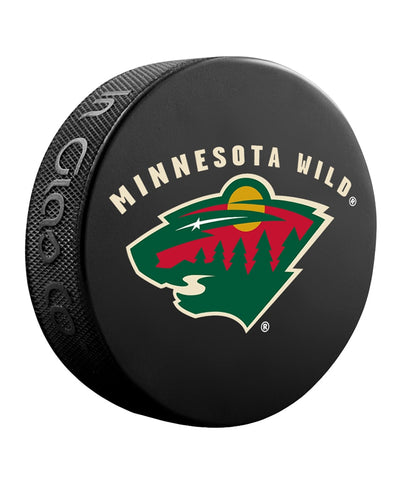 MINNESOTA WILD NHL HOCKEY PUCK