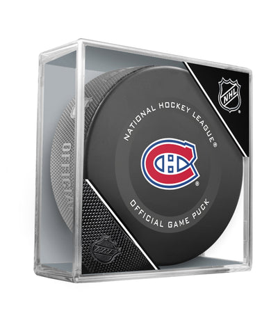 MONTREAL CANADIENS 2019 OFFICIAL GAME PUCK