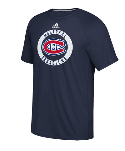 MONTREAL CANADIENS ADIDAS MEN'S PRACTICE GRAPHIC T SHIRT