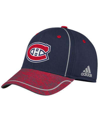 MONTREAL CANADIENS ADIDAS MEN'S 2018 NHL STRUCTURED DRAFT HAT
