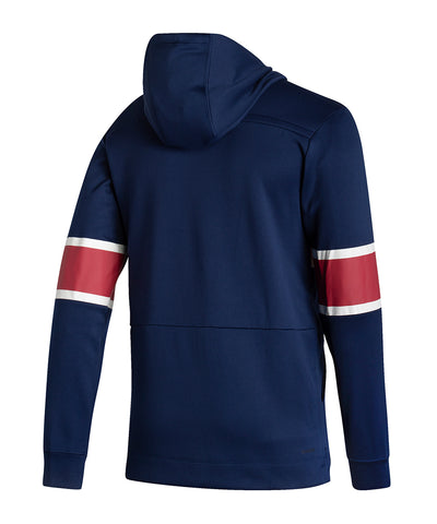 MONTREAL CANADIENS ADIDAS MEN'S REVERSE RETRO UNDER THE LIGHTS PULLOVER HOODIE