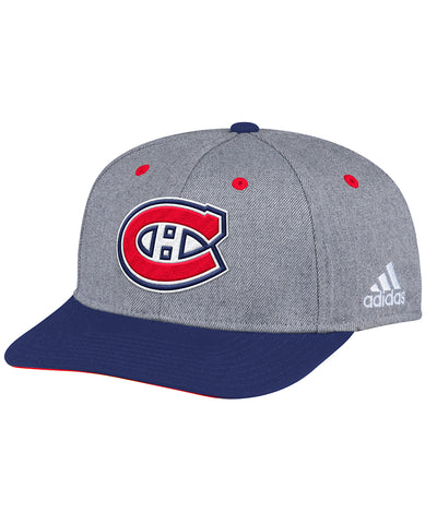 MONTREAL CANADIENS ADIDAS TWO TONE STRUCTURED ADJUSTABLE HAT