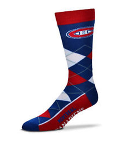 MONTREAL CANADIENS ARGYLE SOCKS