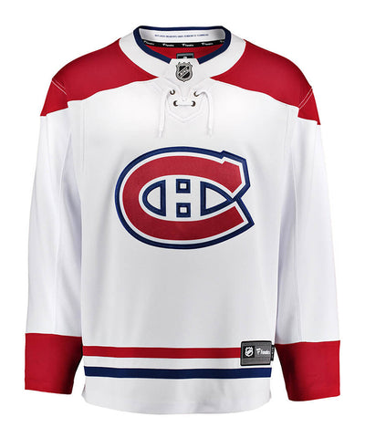 FANATICS MONTREAL CANADIENS MENS AWAY BREAKAWAY JERSEY