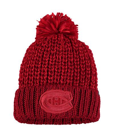 MONTREAL CANADIENS FANATICS WOMEN'S ACE KNIT TOQUE