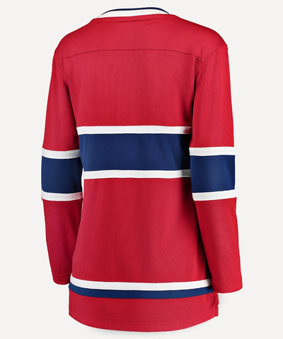 FANATICS MONTREAL CANADIENS WOMENS BREAKAWAY JERSEY