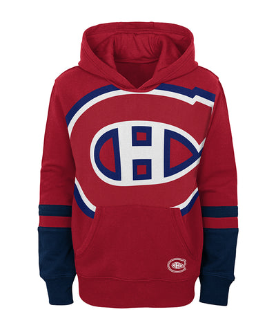 MONTREAL CANADIENS KIDS SPECIAL EDITION PULLOVER FLEECE HOODIE