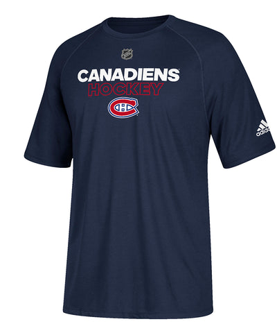 MONTREAL CANADIENS ADIDAS AUTHENTIC ICE 2017 T SHIRT