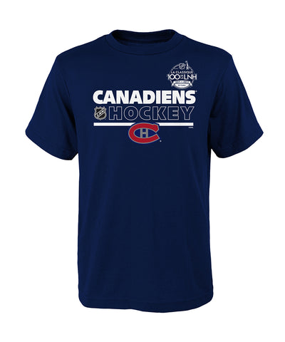 MONTREAL CANADIENS NHL100 CLASSIC KID'S T SHIRT