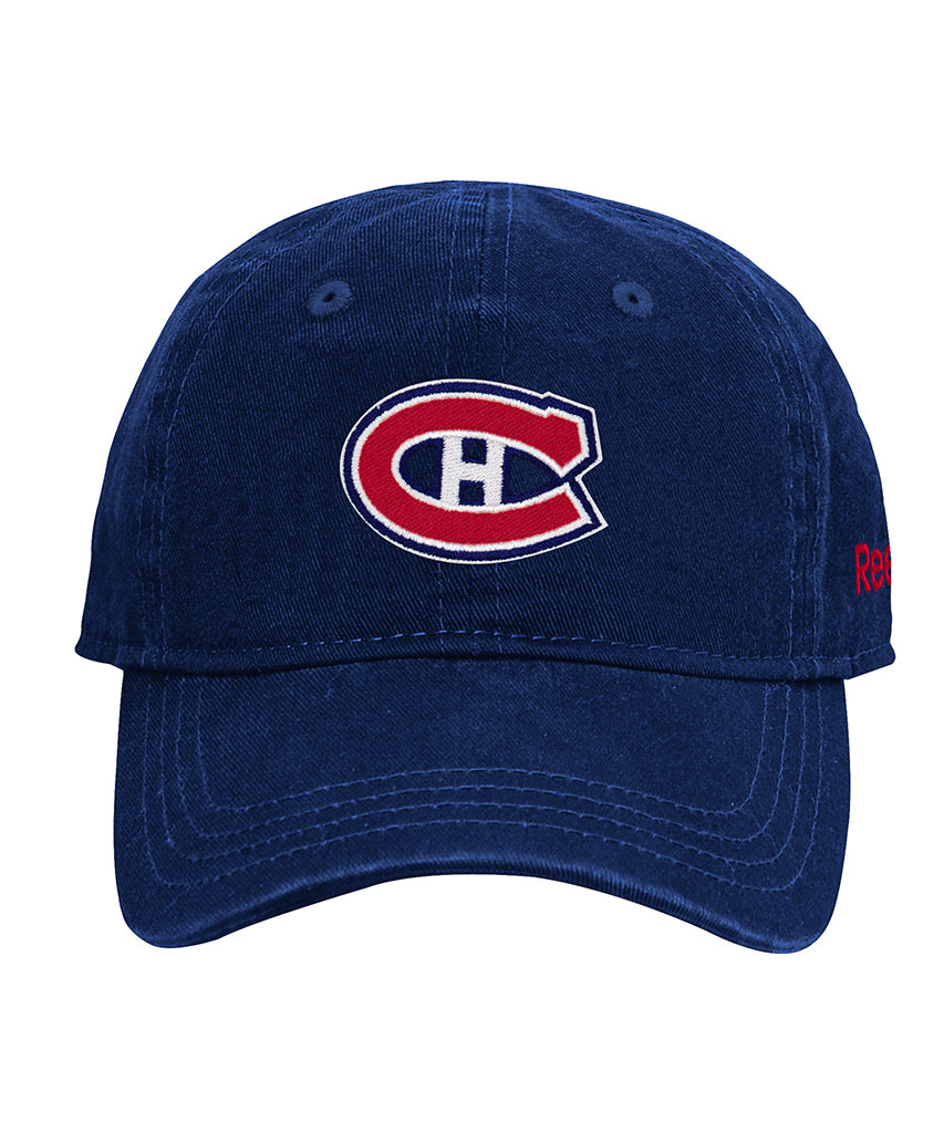 fc414d8b54f MONTREAL CANADIENS REEBOK INFANT WASHED SLOUCH CAP – Pro Hockey Life