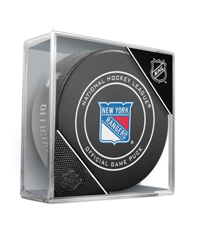 NEW YORK RANGERS OFFICIAL 2018 NHL GAME PUCK