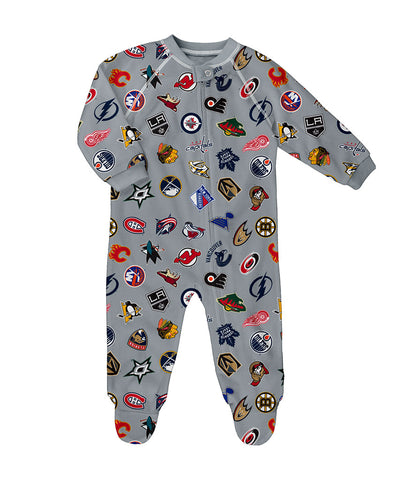 NHL INFANT RAGLAN ZIP UP COVERALL