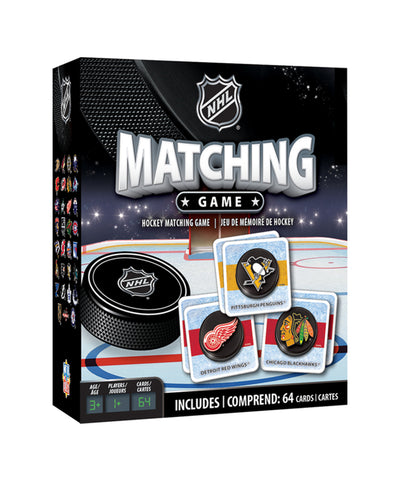NHL MATCHING BOARD GAME