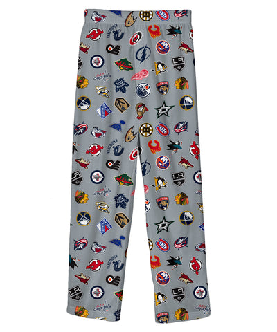 NHL TEAM LOGO JUNIOR PAJAMAS