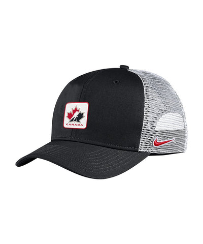 NIKE TEAM CANADA MEN'S C99 TRUCKER HAT - BLACK