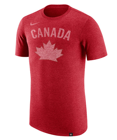 NIKE TEAM CANADA MEN'S TRI-BLEND HERITAGE T SHIRT