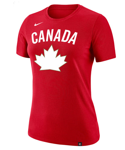 NIKE TEAM CANADA WOMEN'S DRI-FIT LEGEND HERITAGE T SHIRT