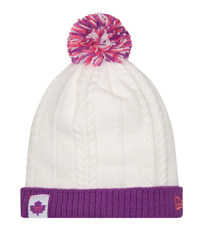 TORONTO MAPLE LEAFS NEW ERA COLOUR SNUG GIRLS BEANIE