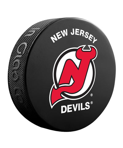 NEW JERSEY DEVILS NHL HOCKEY PUCK